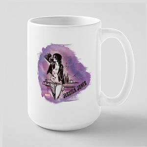 Jessica Jones Purple Sky Large Mug