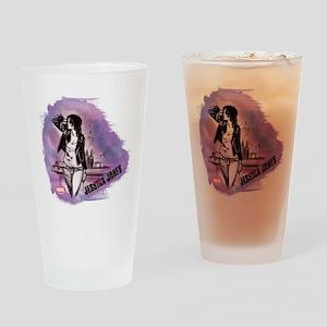 Jessica Jones Purple Sky Drinking Glass