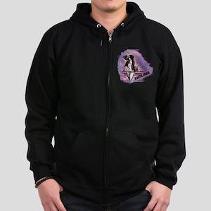 Jessica Jones Purple Sky Zip Hoodie (dark)