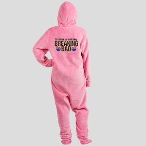 Breaking Bad Fan Footed Pajamas