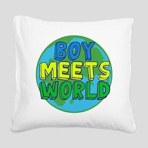 Boy Meets World Square Canvas Pillow