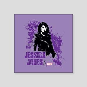 "Jessica Jones Fragmented Pu Square Sticker 3"" x 3"""