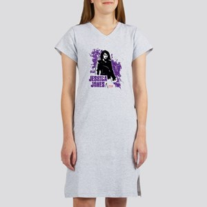 Jessica Jones Fragmented Purple Women's Nightshirt