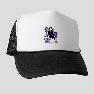 Jessica Jones Fragmented Purple Trucker Hat