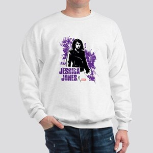 Jessica Jones Fragmented Purple Sweatshirt