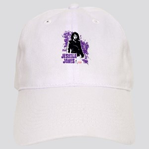 Jessica Jones Fragmented Purple Cap