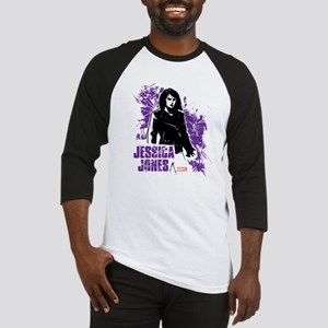 Jessica Jones Fragmented Purple Baseball Jersey