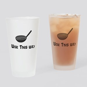 Wok This Way Drinking Glass