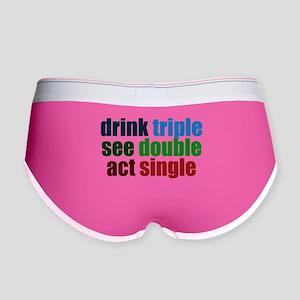 Drinking Joke Women's Boy Brief