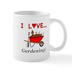 I Love Gardening Mug
