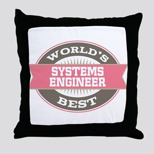 systems engineer Throw Pillow