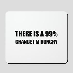 Chance I Am Hungry Mousepad