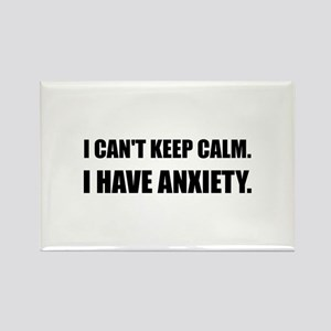 Keep Calm Anxiety Magnets