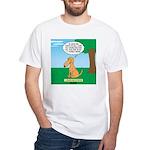 Golden Non-Retriever White T-Shirt