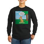 Golden Non-Retriever Long Sleeve Dark T-Shirt