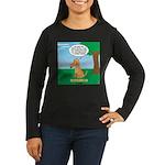 Golden Non-Retrie Women's Long Sleeve Dark T-Shirt