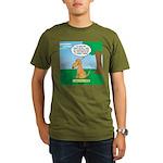Golden Non-Retriever Organic Men's T-Shirt (dark)