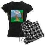 Golden Non-Retriever Women's Dark Pajamas