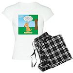 Golden Non-Retriever Women's Light Pajamas