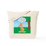 Golden Non-Retriever Tote Bag