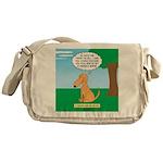 Golden Non-Retriever Messenger Bag