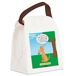 Golden Non-Retriever Canvas Lunch Bag