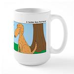 Golden Non-Retriever Large Mug