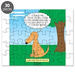 Golden Non-Retriever Puzzle