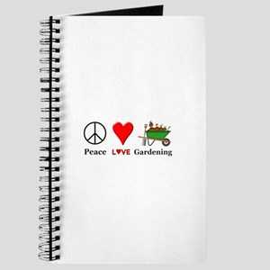 Peace Love Gardening Journal