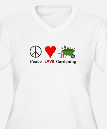 Peace Love Garden T-Shirt
