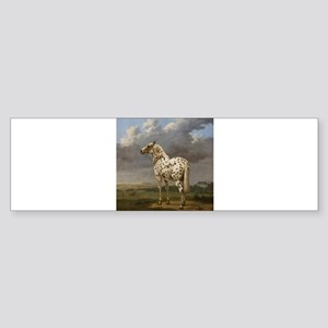 "Paulus Potter - The ""Piebald&q Bumper Sticker"
