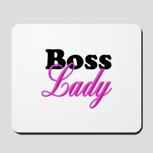Boss Lady Mousepad