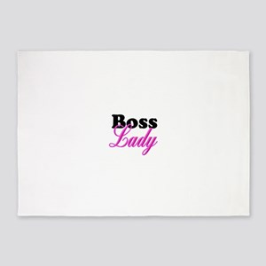 Boss Lady 5'x7'Area Rug