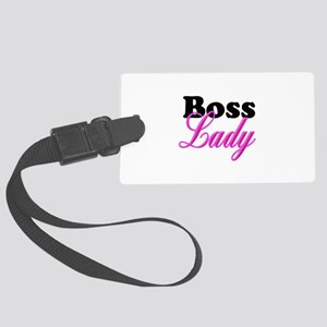 Boss Lady Large Luggage Tag