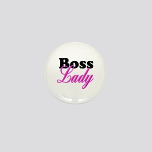 Boss Lady Mini Button