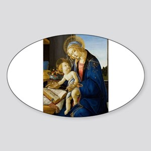 Sandro Botticelli - The Virgin and Child ( Sticker