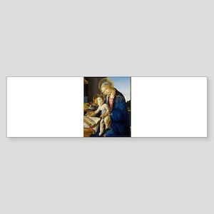 Sandro Botticelli - The Virgin and Bumper Sticker
