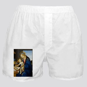 Sandro Botticelli - The Virgin and Ch Boxer Shorts
