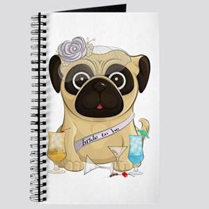 Bachelorette Pug Journal