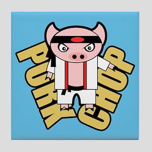 Pork Chop BBG Tile Coaster