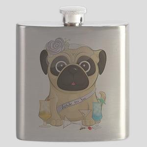 Bachelorette Pug Flask