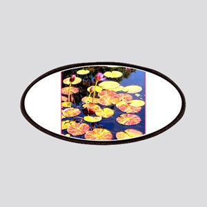 Water lily, nature photo Patch