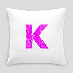K (Pink) Everyday Pillow