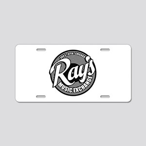 Ray's Music Exchange Aluminum License Plate