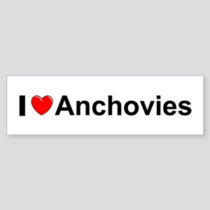 Anchovies Sticker (Bumper)