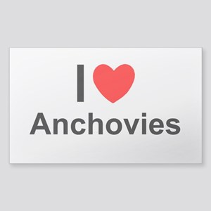 Anchovies Sticker (Rectangle)