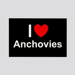 Anchovies Rectangle Magnet