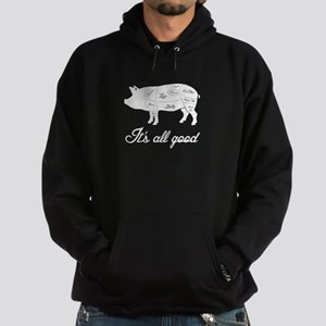 It's All Good Pig Pork Meat Map Sweatshirt