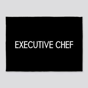 Culinary: Executive Chef 5'x7'Area Rug