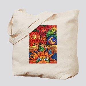 Create Art Every Day Tote Bag